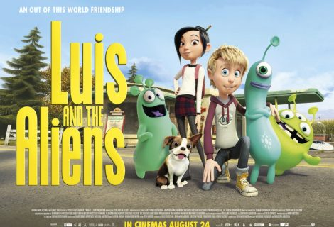 Luis and the Aliens, it's an out of this world friendship