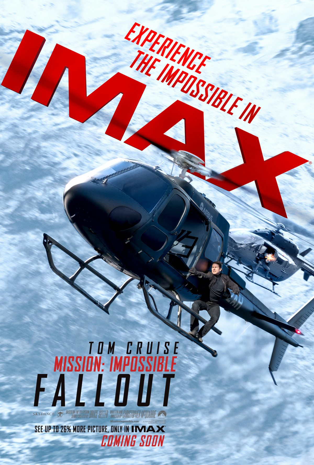 Mission: Impossible – Fallout goes all out IMAX with new poster