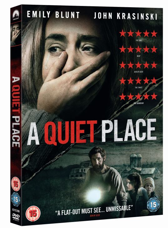 Win A Quiet Place on DVD - Available to Download and Keep July 30 and 4K UHD™, Blu-ray™ and DVD August 13