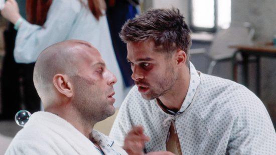 Twelve Monkeys 4K Restoration - Bruce Willis and Brad Pitt