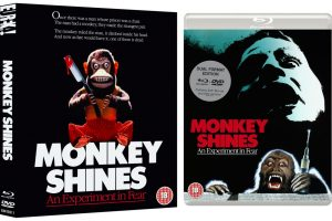 MONKEY SHINES, George A. Romero's terrifyingly twisted thriller heads to Blu-ray