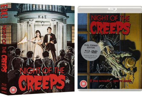 Night of the Creeps is Creeping on to Limited Edition Dual-Format Blu-ray
