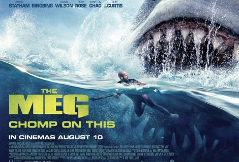 Win a The Meg Official Merchandise Prize Pack