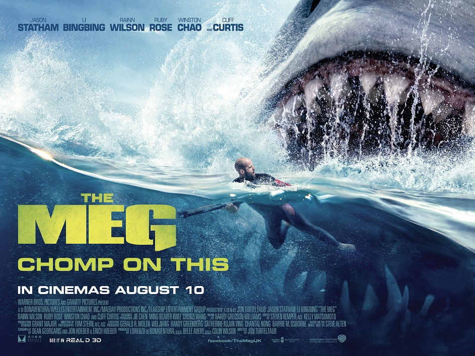 The Meg - It's Got Bite in RealD 3D - Movie Review • Blazing Minds