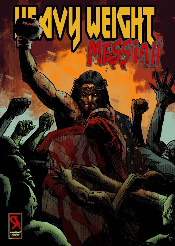Philip Rogers brings us his review of Andino Benito's, Comic Book, Heavyweight Messiah from Comix Central