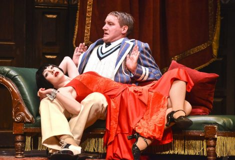 The Play That Goes Wrong makes a triumphant return to Venue Cymru – Review