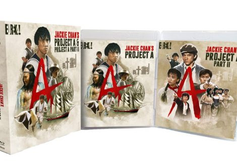 Win Jackie Chan's Project A and Project A Part II