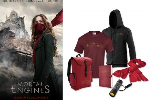 Win 1 of 3 Amazing Mortal Engines Prize Bundles