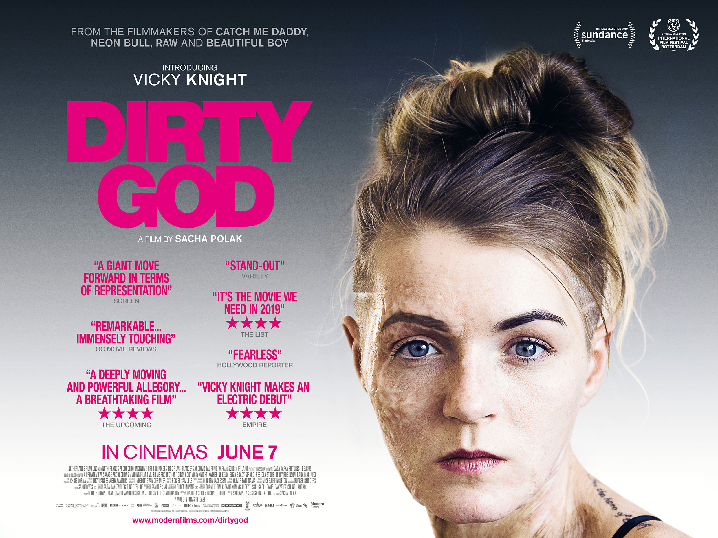 Dirty God New UK Trailer and Poster Released • Blazing Minds