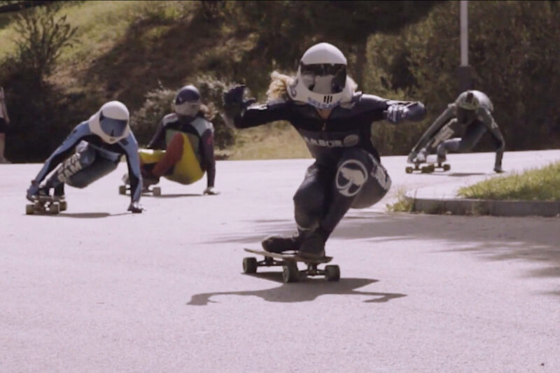 Woolf Women - Downhill Skaters - New trailer & poster • Blazing Minds