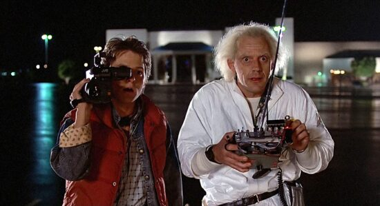 Michael J Fox and Christopher Lloyd - Back to the Future (1985)