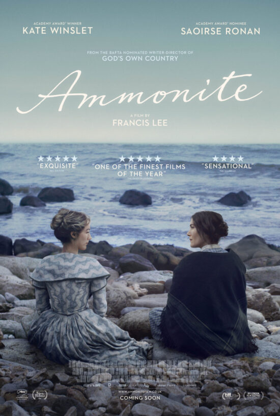 New Trailer and Poster released for Ammonite • Blazing Minds