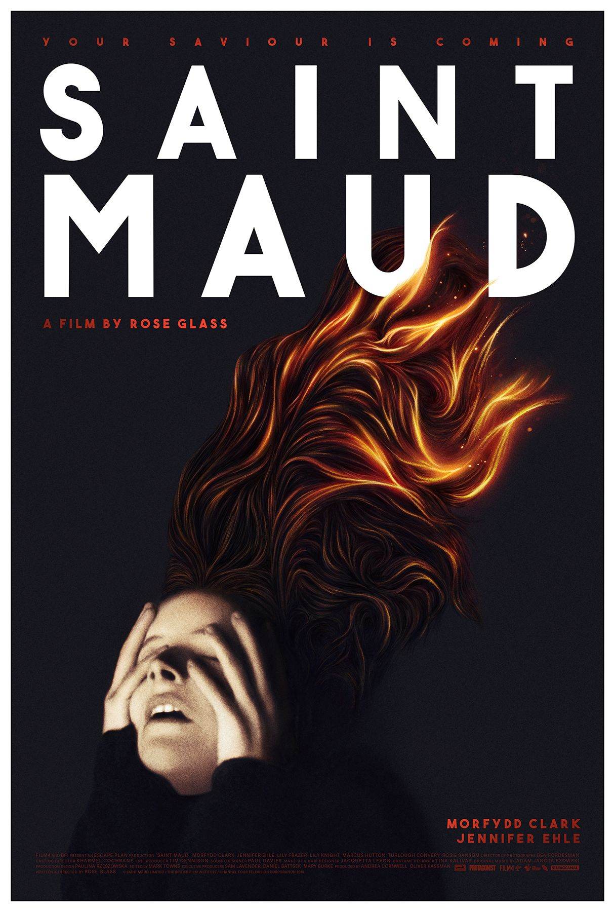 Saint Maud, a stunning Psychological Thriller with Morfydd Clark - Film Review
