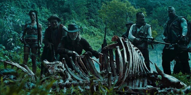 Sahajak Boonthanakit and Richard Brake in Tremors Shrieker Island (2020)